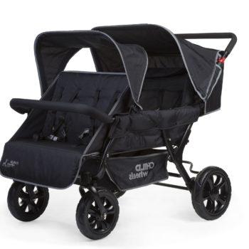 Vierlingswagen - Unsere besten Krippenwagen für 4 Kinder 19