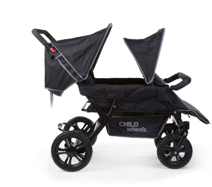 Childwheels two by two Vierlingswagen 4-Sitzer (CHILDHOME) 2