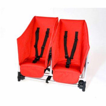 Rambler Explorer 65 + Kindersitz + Duo-Babysitz + Trittbrett 36