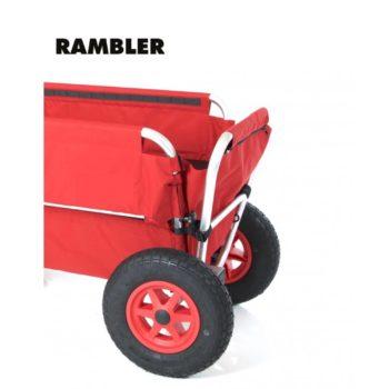 Rambler Explorer 80 + Hinterer Rahmen + Kindersitz 25
