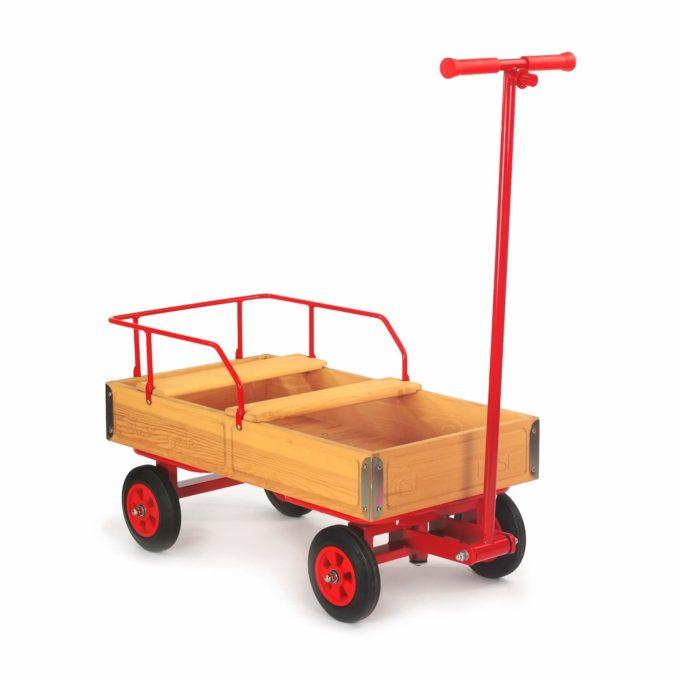 ROSE Bollerwagen mit Vollgummireifen (4bf) 1