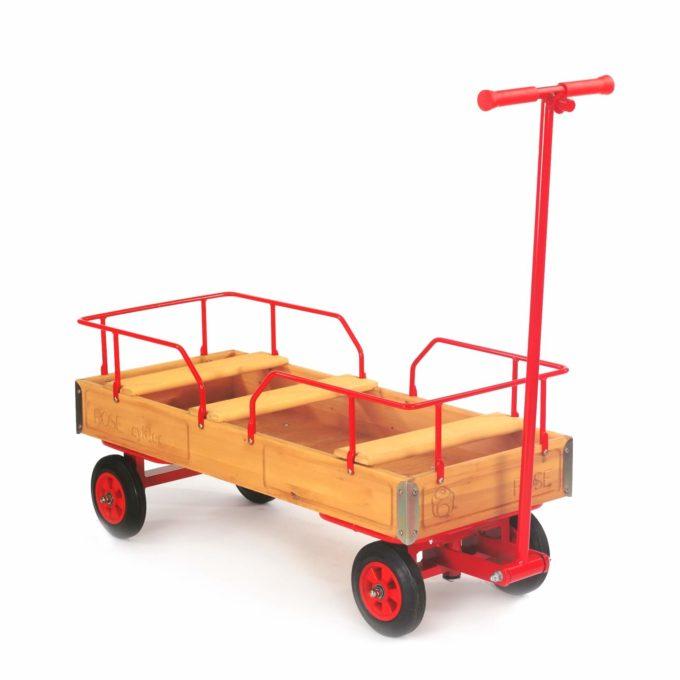 ROSE Bollerwagen mit Vollgummireifen (4cf) 1