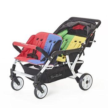 Vierlingswagen - Unsere besten Krippenwagen für 4 Kinder 18