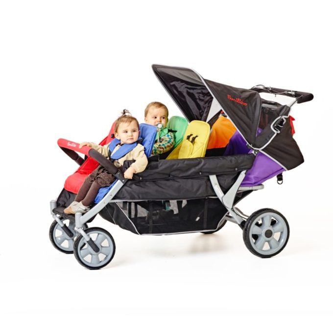 Familidoo Lidoo Kinderbus BB - Krippenwagen 6-Sitzer 1