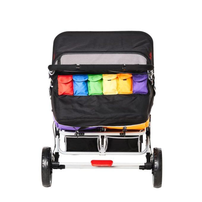 Familidoo Lidoo Kinderbus BB - Krippenwagen 6-Sitzer 9