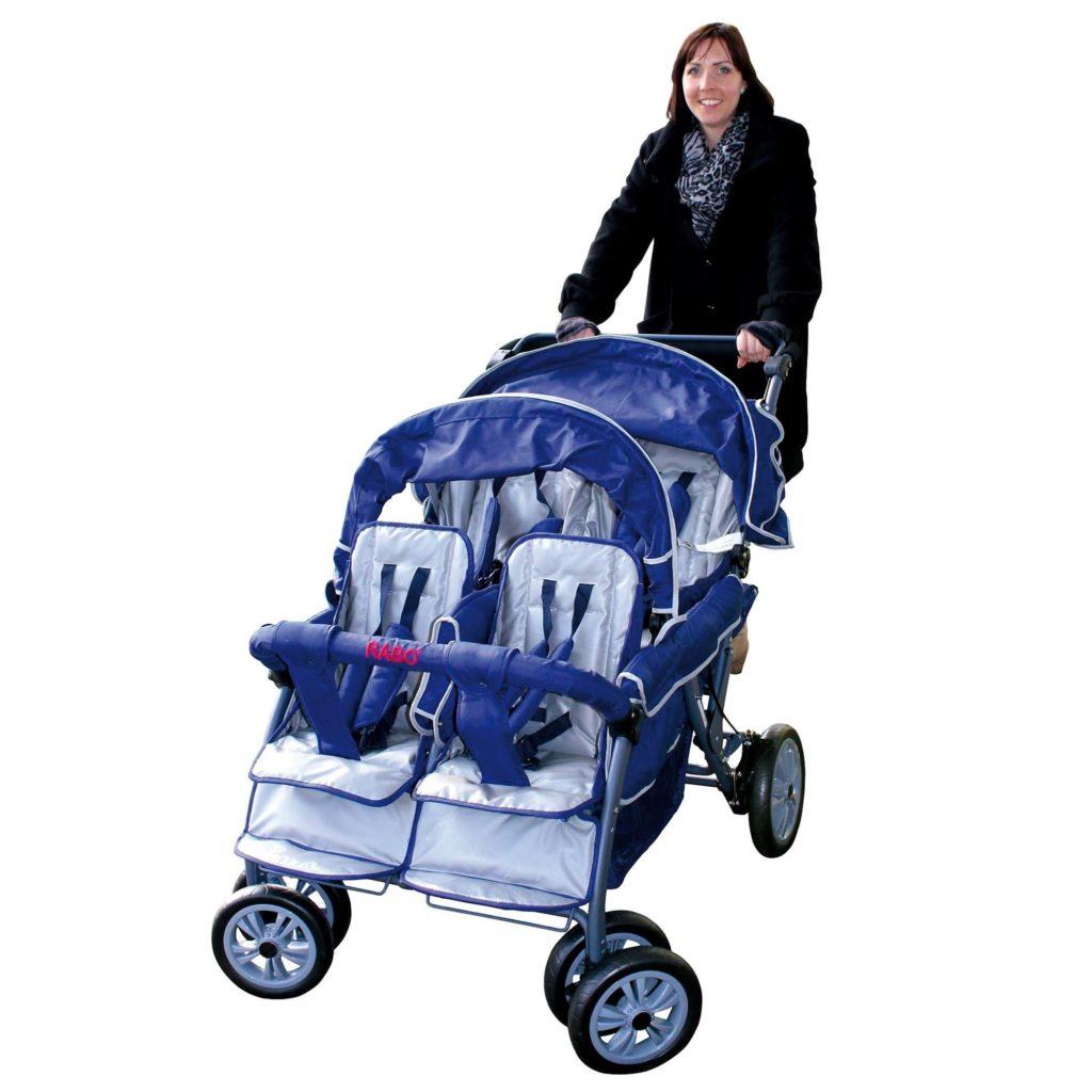 Vierlingswagen - Unsere besten Krippenwagen für 4 Kinder 5