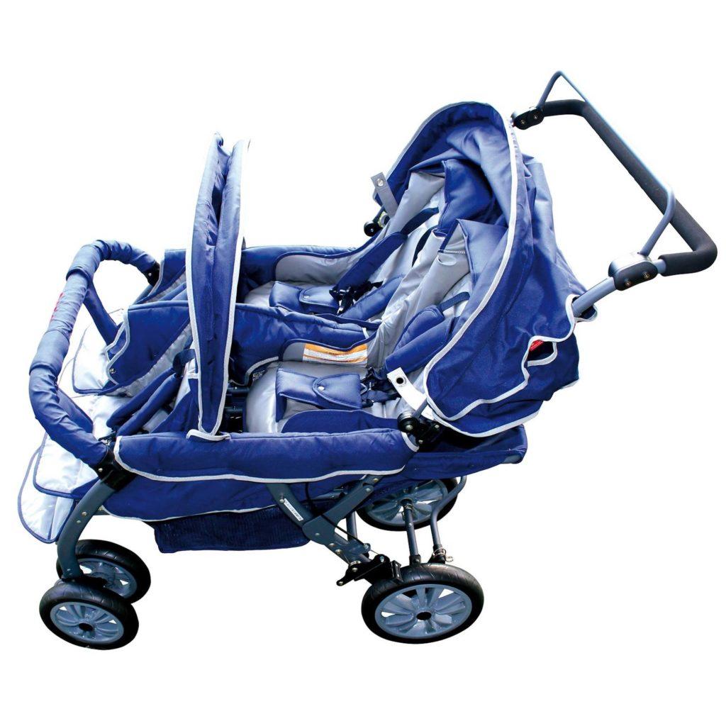 Vierlingswagen - Unsere besten Krippenwagen für 4 Kinder 6