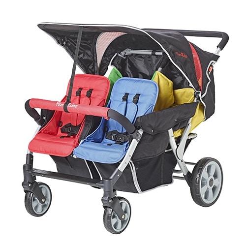 Vierlingswagen - Unsere besten Krippenwagen für 4 Kinder 1