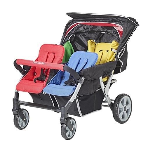 Familidoo Lidoo Star Vierlingswagen BB+ 4-Sitzer 8
