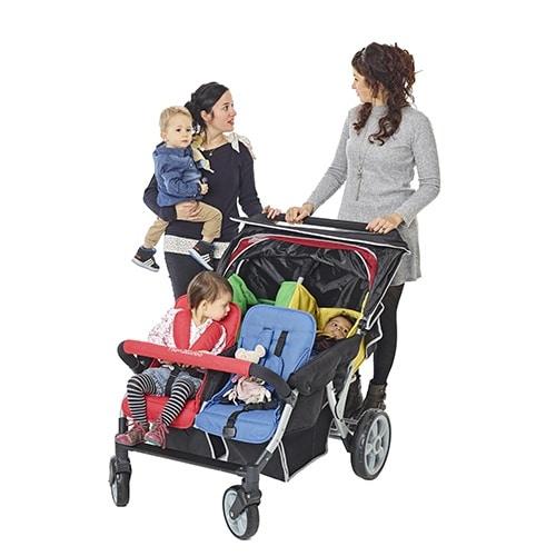 Familidoo Lidoo Star Vierlingswagen BB+ 4-Sitzer 3