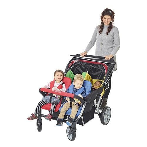 Familidoo Lidoo Star Vierlingswagen BB+ 4-Sitzer 2