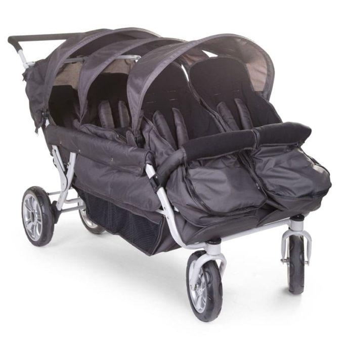Fußsack für alle CHILDHOME Krippenwagen 3
