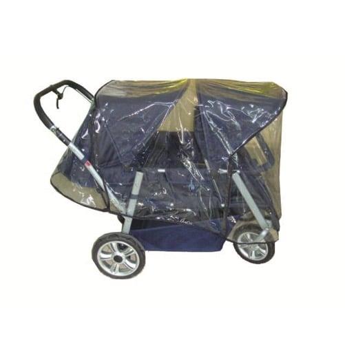 Regenschutz für Krippenwagen Tina 1