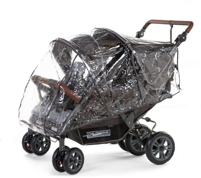 Regenschutz für CHILDHOME für Quadruple (CWQDN) 1