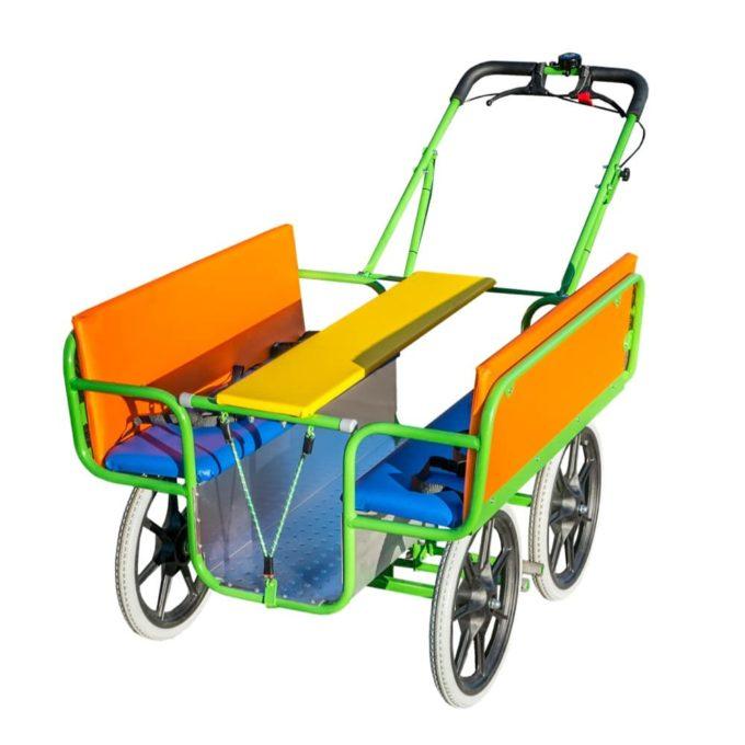 Dragon Toys Krippenwagen BUNT 6-Sitzer 1
