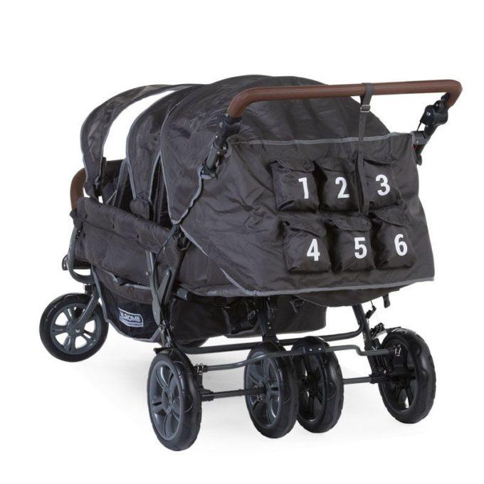CHILDHOME (Childwheels) Krippenwagen 6-Sitzer 4
