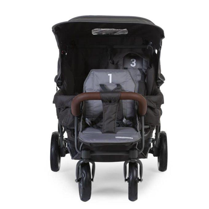 Childwheels Drillingswagen 3-Sitzer (CHILDHOME) 2