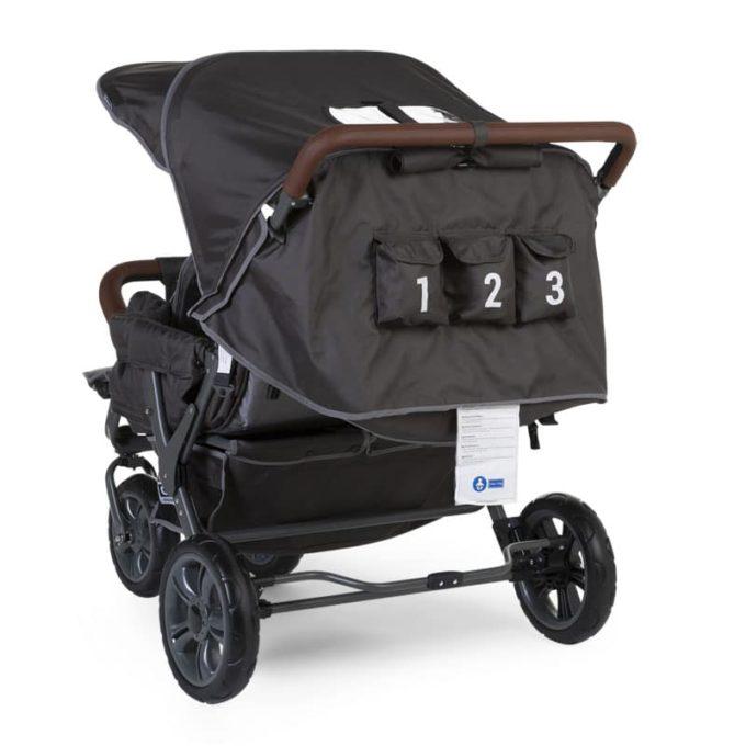Childwheels Drillingswagen 3-Sitzer (CHILDHOME) 4