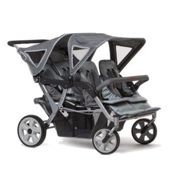 Vierlingswagen - Unsere besten Krippenwagen für 4 Kinder 17