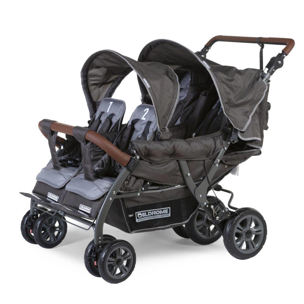 Vierlingswagen - Unsere besten Krippenwagen für 4 Kinder 11