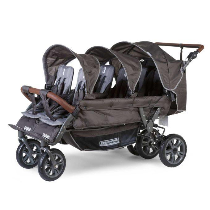 CHILDHOME (Childwheels) Krippenwagen 6-Sitzer 1