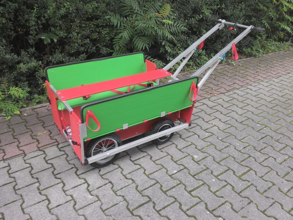 Diedersdorfer Krippenwagen mit Motor 8-Sitzer 11