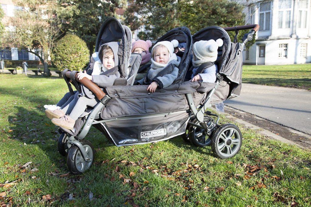 CHILDHOME (Childwheels) Krippenwagen 6-Sitzer 13
