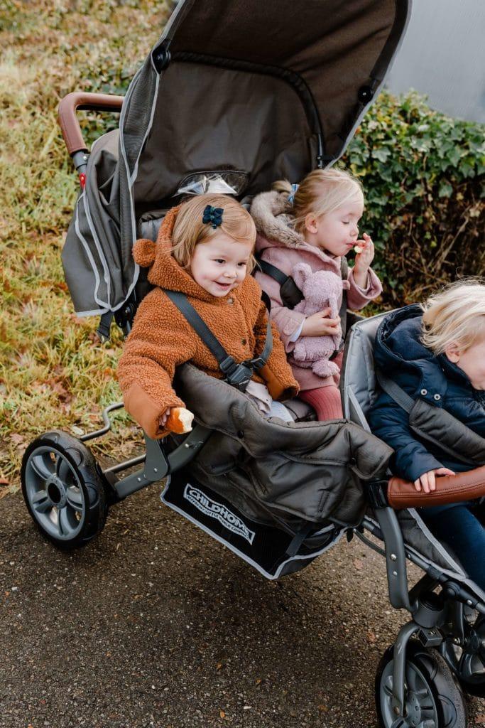 Childwheels Drillingswagen 3-Sitzer (CHILDHOME) 9