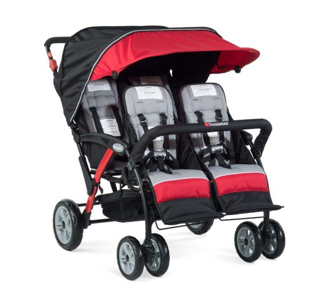 Foundations QUAD Sport Kinderwagen 4-Kinder 4