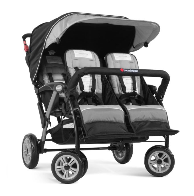 Foundations QUAD Sport Kinderwagen 4-Kinder 3
