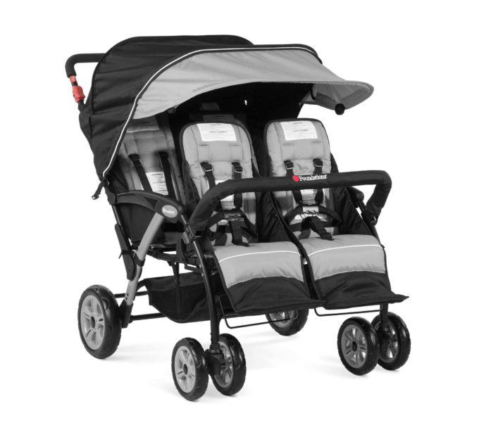 Foundations QUAD Sport Kinderwagen 4-Kinder 6