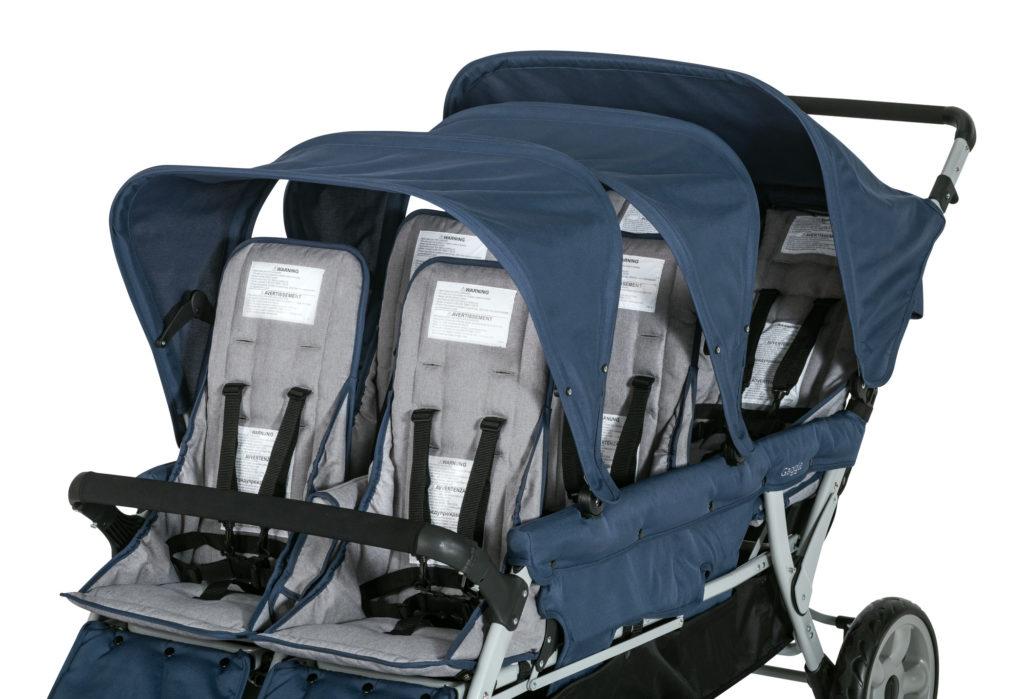 Krippenwagen 6-Sitzer - Unsere besten Sechslingswagen 6