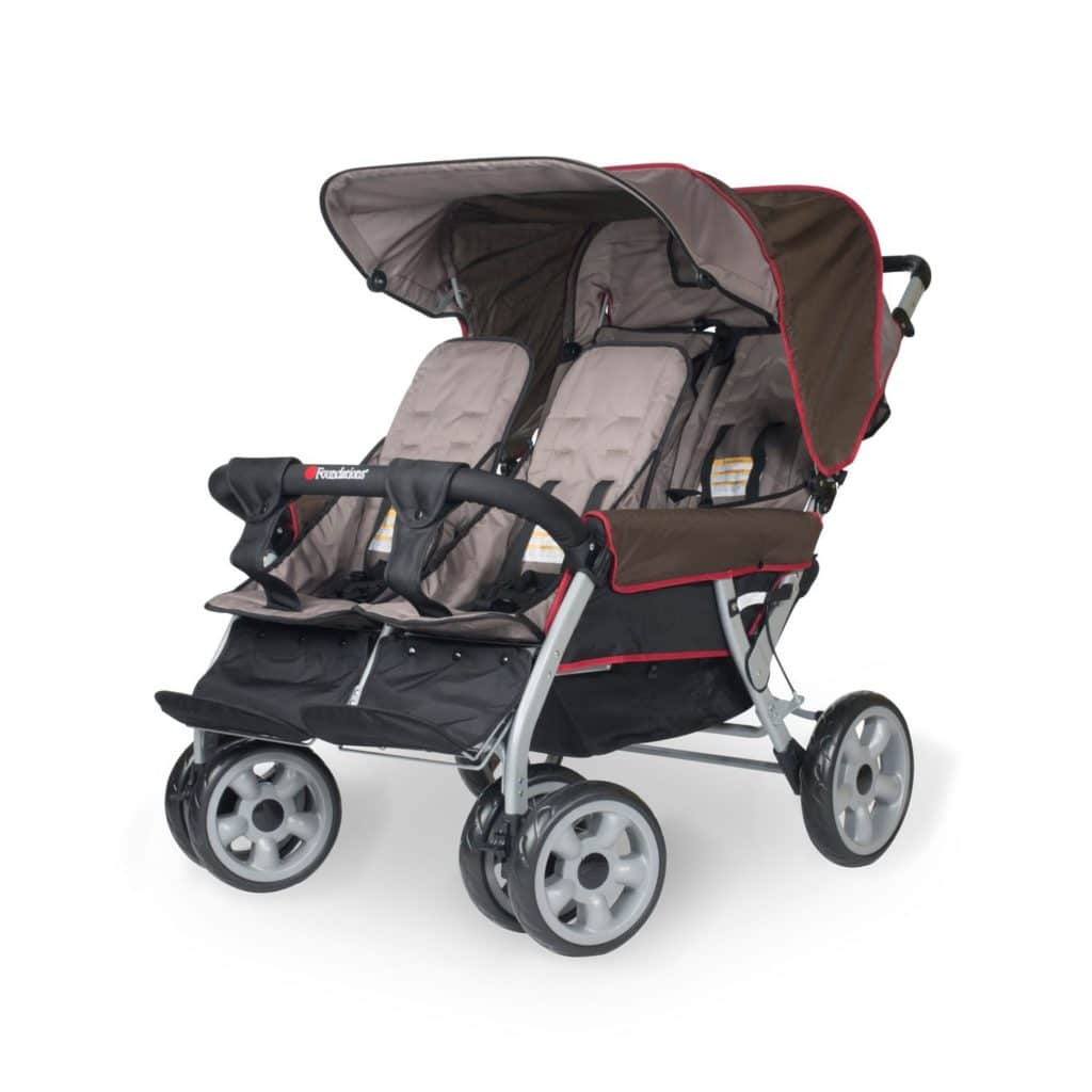 Vierlingswagen - Unsere besten Krippenwagen für 4 Kinder 13