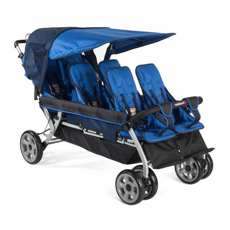 Krippenwagen 6-Sitzer - Unsere besten Sechslingswagen 4