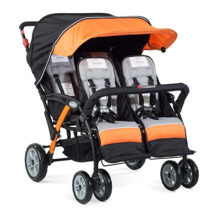 Foundations QUAD Sport Kinderwagen 4-Kinder 2