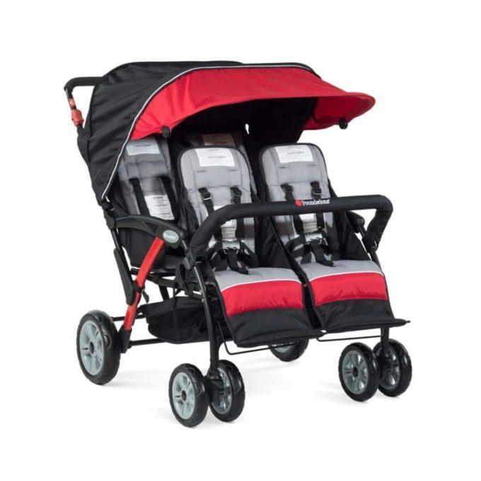 Foundations QUAD Sport Kinderwagen 4-Kinder 1