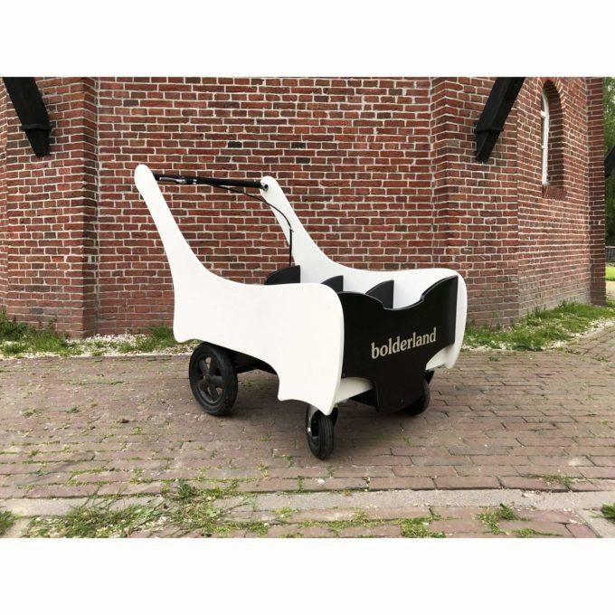 Bolderland Krippenwagen 6-Sitzer Christof - schwarz/weiß 1