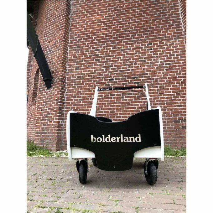 Bolderland Krippenwagen 6-Sitzer Christof - schwarz/weiß 3