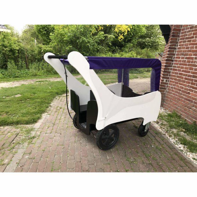 Bolderland Krippenwagen 6-Sitzer Christof - schwarz/weiß 9