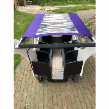 Regen- und Sonnenschutz für Bolderland Krippenwagen 6