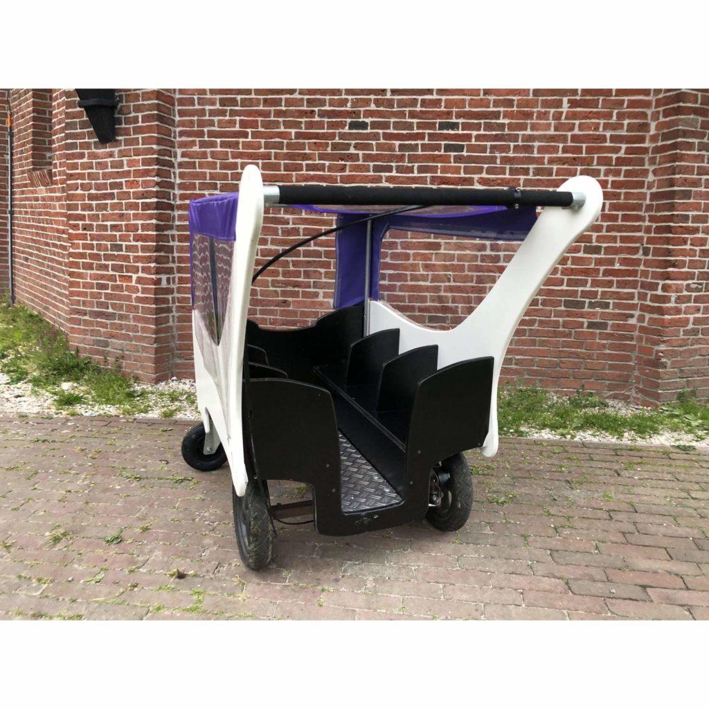 Bolderland Krippenwagen 6-Sitzer Christof - weiß 10