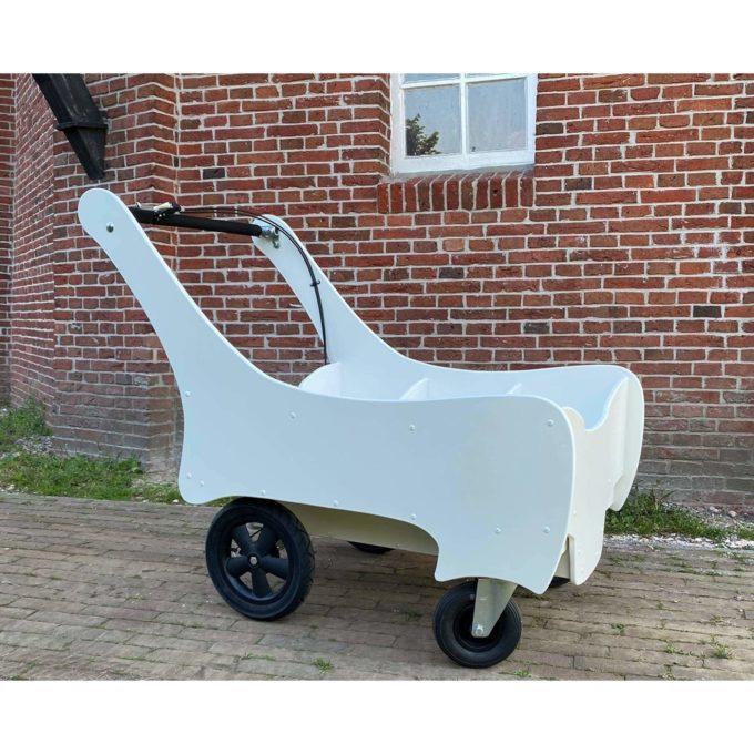 Bolderland Krippenwagen 6-Sitzer Christof - weiß 4