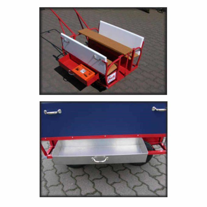 Schubkästen (Stauraum) Krippenwagen Dick 1