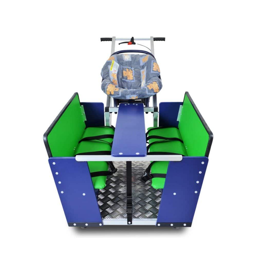Diedersdorfer Krippenwagen 6-Sitzer 17