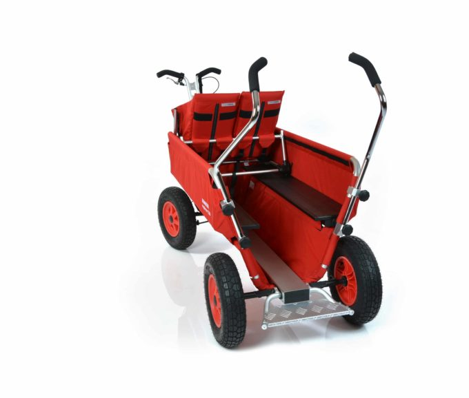 Rambler Explorer 120 (für 9 Kinder) - 1 Duo-Babysitz + Trittbrett 12