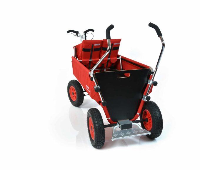Rambler Explorer 120 (für 9 Kinder) - 1 Duo-Babysitz + Trittbrett 13