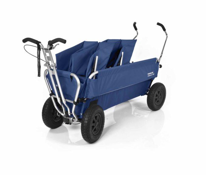 Rambler Explorer 120 (für 7 Kinder) - 2 Duo-Babysitze + Trittbrett 18