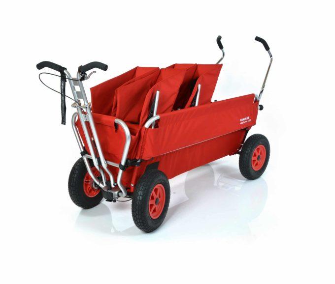 Rambler Explorer 120 (für 7 Kinder) - 2 Duo-Babysitze + Trittbrett 1