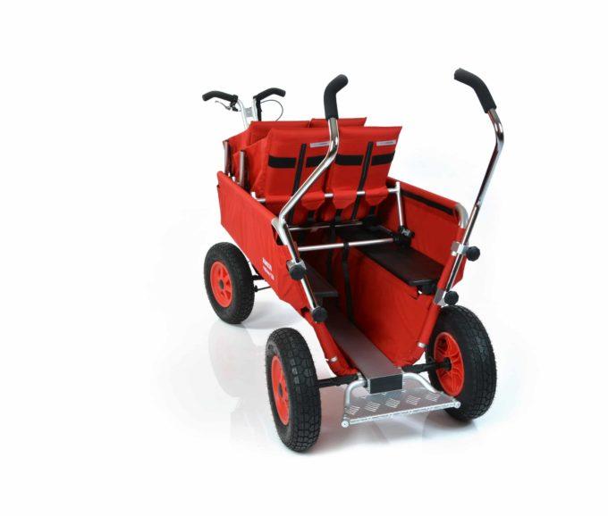 Rambler Explorer 120 (für 7 Kinder) - 2 Duo-Babysitze + Trittbrett 11