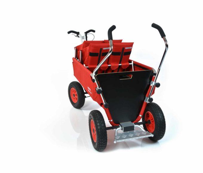 Rambler Explorer 120 (für 7 Kinder) - 2 Duo-Babysitze + Trittbrett 12